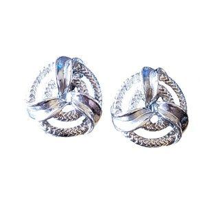 Vintage Lisner Clip On Earrings